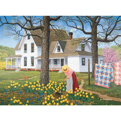 Spring Cleaning 500 Piece Jigsaw Puzzle