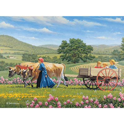 Rolling Along 1000 Piece Jigsaw Puzzle