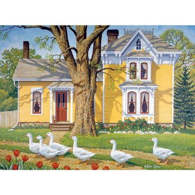 Easter Parade 1000 Piece Jigsaw Puzzle