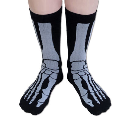 Skeleton Novelty Sock