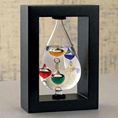 Teardrop Galileo Thermometer