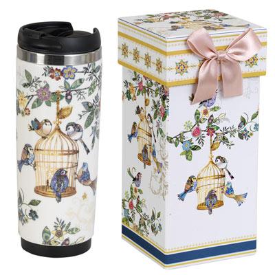 Birdcage Insulated Travel Mug