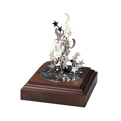 Magnetic Art Sculpture - Moon & Stars