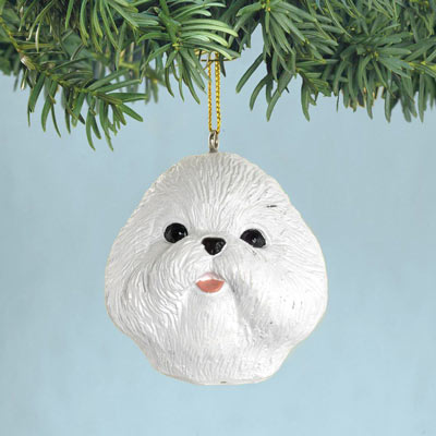 Bichon Christmas Ornaments
