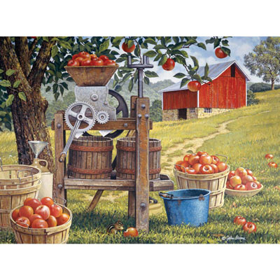 Cider Time 500 Piece Jigsaw Puzzle