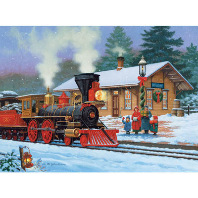 Holiday Station 1000 Piece Jigsaw Puzzle