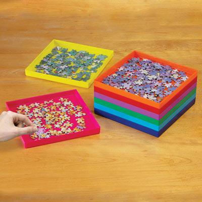 Jumbo Stack-Em Puzzle Sorting Trays