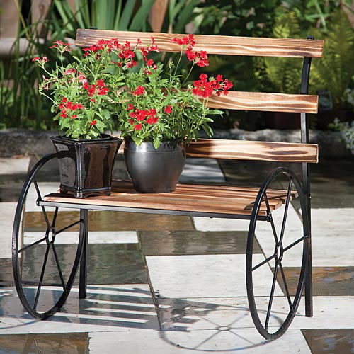 Awesome Wooden Bench Plant Stand Gmtry Best Dining Table And Chair Ideas Images Gmtryco
