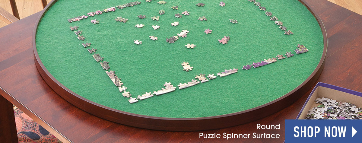 Puzzle Spinner Surface Round 34