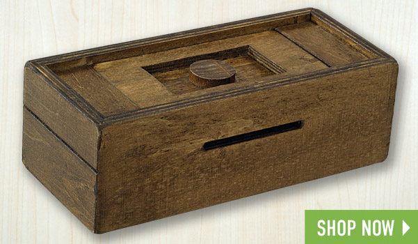 Stash Your Cash Secret Puzzle Box 1