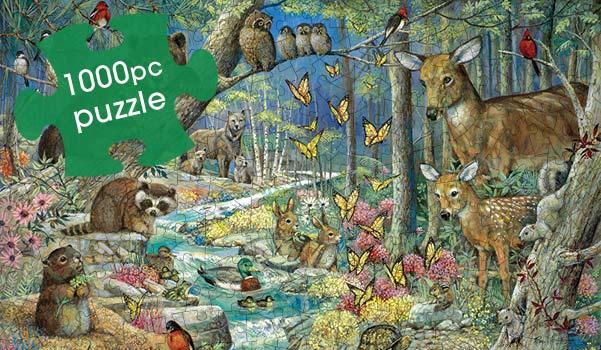 Spring Babies 1000 Piece Jigsaw Puzzle