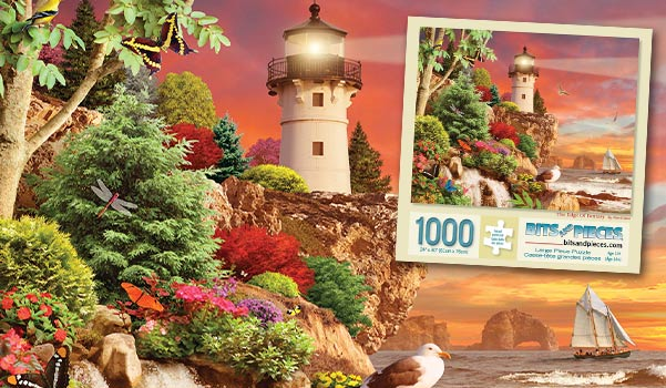 The Edge of Fantasy 1000 Piece Jigsaw Puzzle