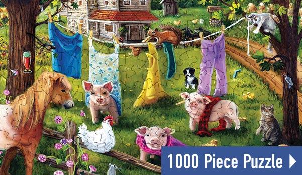 Fashion Show 1000 Piece Jigsaw Puzzle