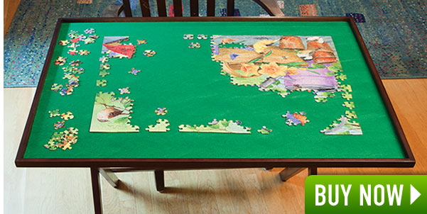 Fold Away Jigsaw Puzzle Table