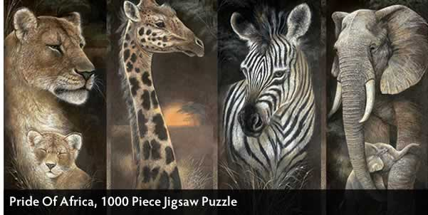 Pride Of Africa 1000 Piece Jigsaw Puzzle