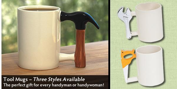 Handy Tool Mug -Hammer