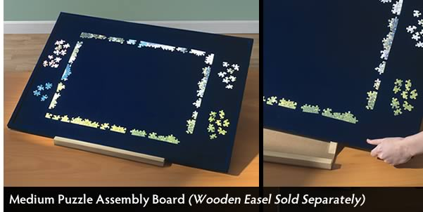 Extra Space Puzzle Assembly Board