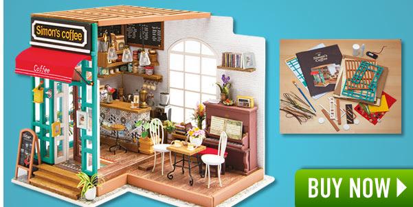 Incredible Simon's Coffee Shop Model Kit