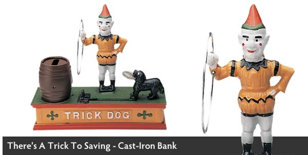 Trick Dog Money Bank