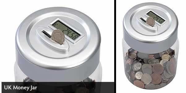 Uk Money Jar