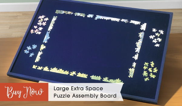 Extra Space Puzzle Assembly Board - Large
