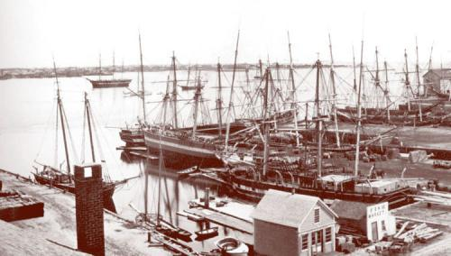 """New Bedford Harbor in the Era of William Henry """"Squire"""" Johnson"""