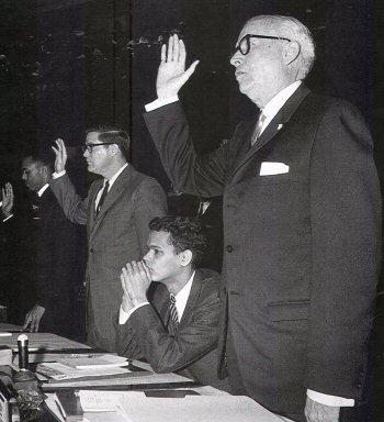 Julian Bond at the Georgia State Legislature, January 10, 1966