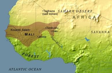 Timbuktu Location On World Map.Mali Empire Ca 1200 Blackpast