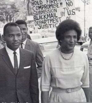 James Meredith and Constance Baker Motley, 1962