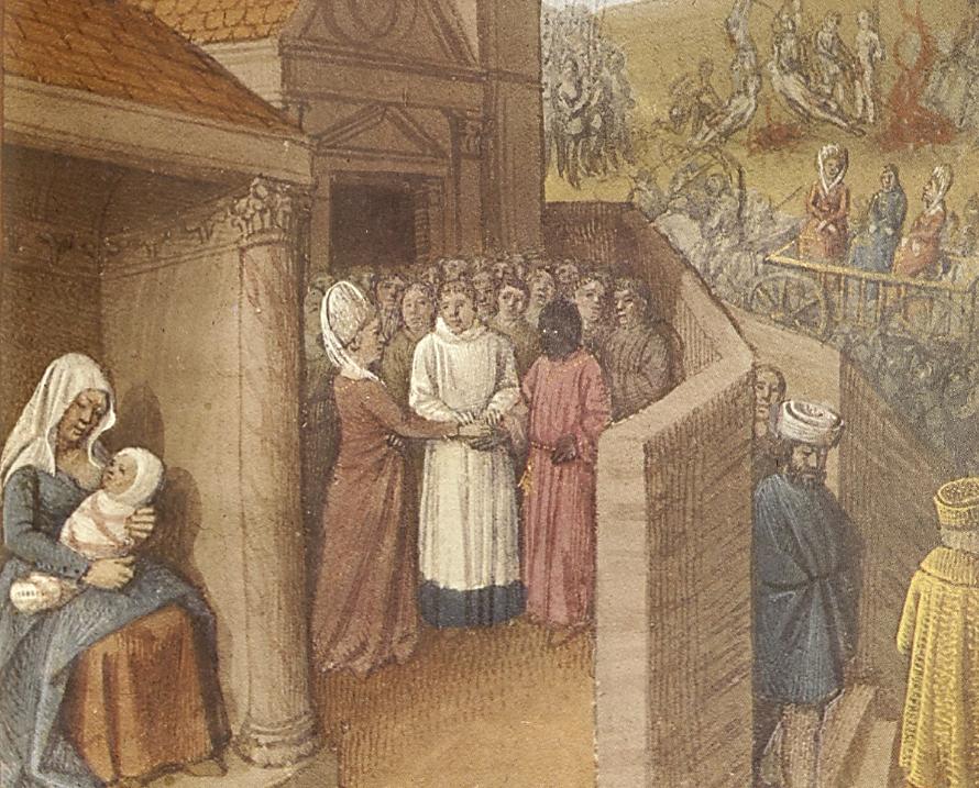 Marriage of Phillipa of Catania to Raimondo di Cabanni