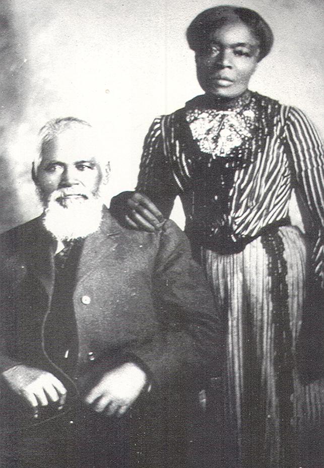 Samuel and Amanda Chambers, 19th Century Mormon Couple