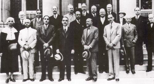 W.E.B. DuBois and the Editorial and Advisory Boards of the Encyclopedia of the Negro, 1936