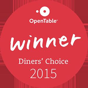 Open table award 2015