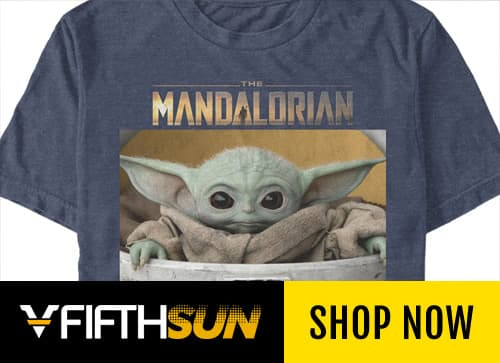 "Official apparel for ""The Mandalorian"" at Fifth Sun"