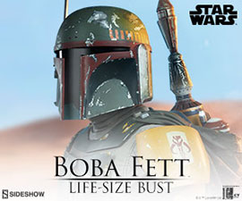 Boba Fett Life-Size Bust