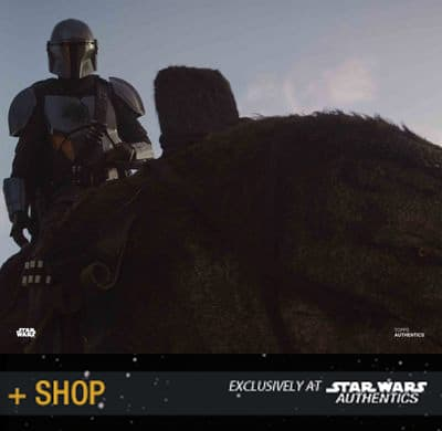 "Official photos from ""The Mandalorian"" at Star Wars Authentics"