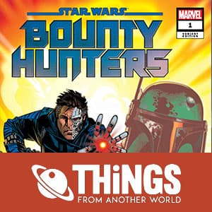 "Pre-order ""Star Wars: Bounty Hunters #1"" (Golden Variant) on TFAW"