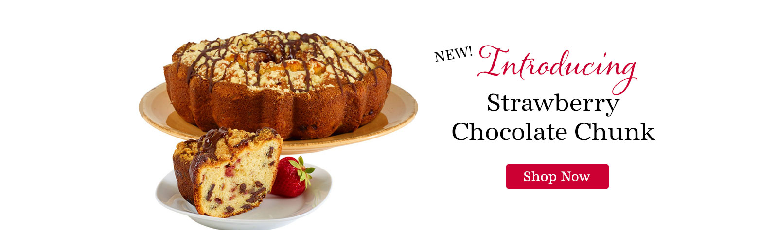 New Strawberry Chocolate Cake