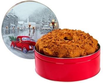 3 lb. Original Cinnamon Walnut Snowy Drive Tin