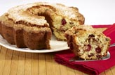 New England Holiday Tradition Coffee Cake