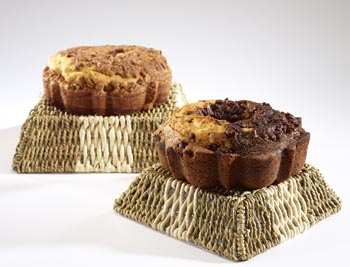 Two Gourmet Coffee Cakes