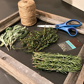 Easy Herb Drying Rack