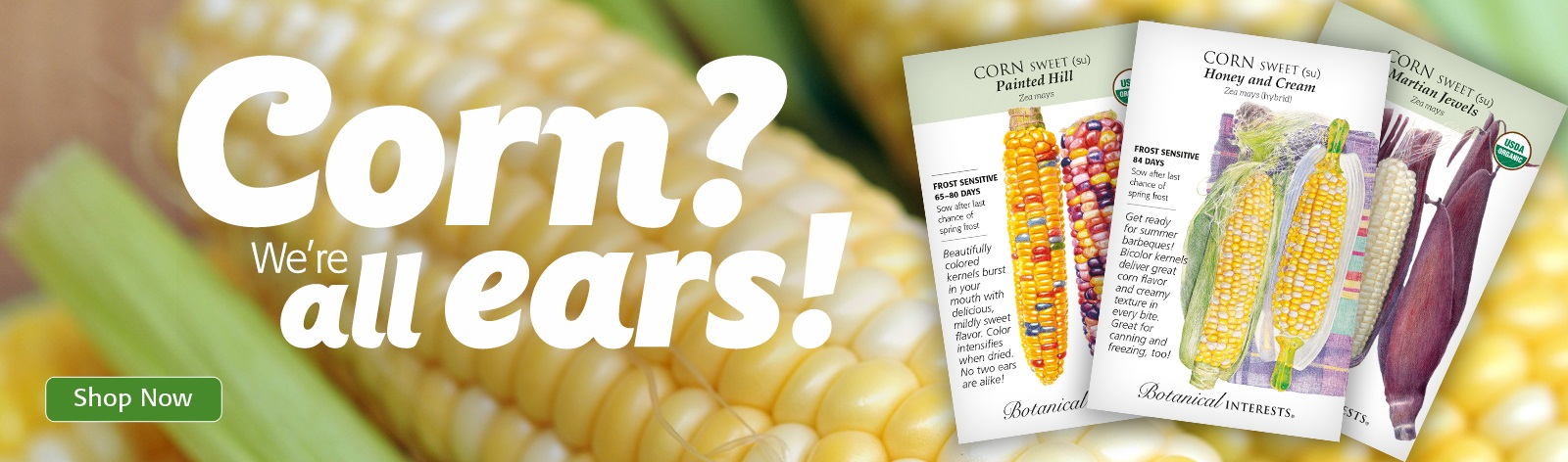 Corn? We are all ears!