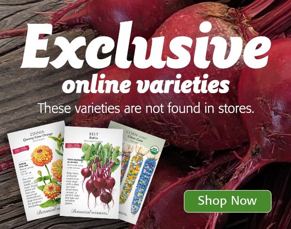 Mobile - Exclusive online varieties not found in stores