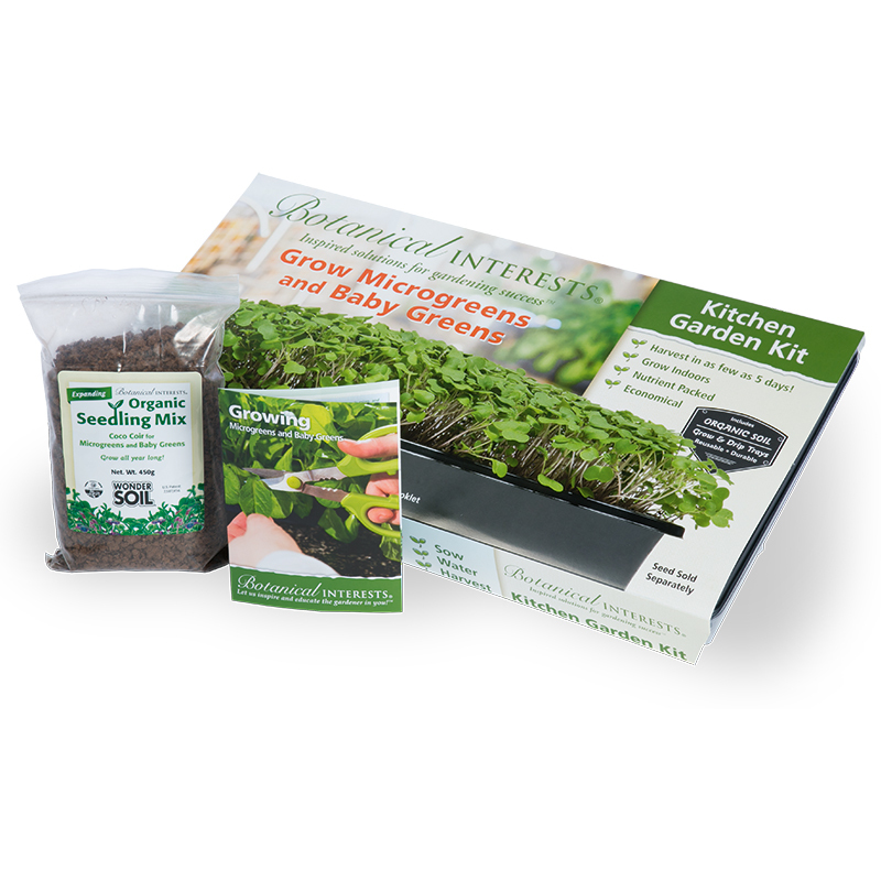 Kitchen Garden Kit: Kitchen Garden Kit, View All Products: Botanical Interests