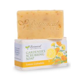 Lemon Calendula Gardener's Scrubbing Soap