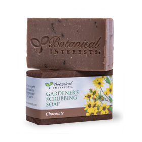 Chocolate-Scented Gardener's Scrubbing Soap