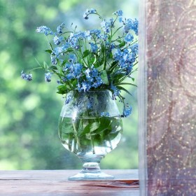 Bringing the Outside in with Cut Flowers