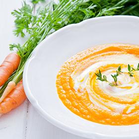Carrot Coriander Soup