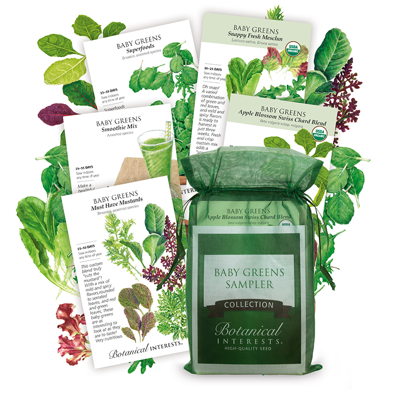 Baby Greens Sampler Collection